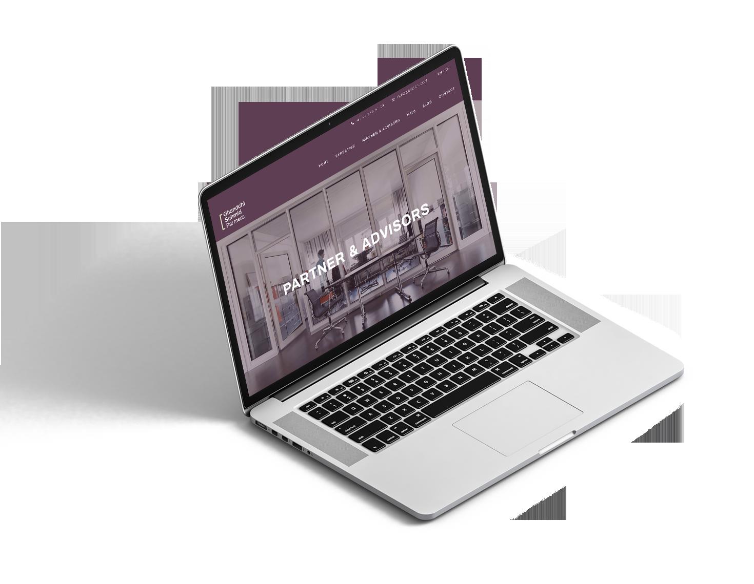 Ghandchi Schmid Partners Website